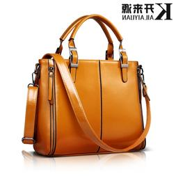 100% Genuine leather Women handbags 2019 New Fashion Handbag
