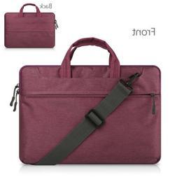 "12"" 13.3"" 15.6"" Laptop Shoulder Bags Cover Case Business Not"