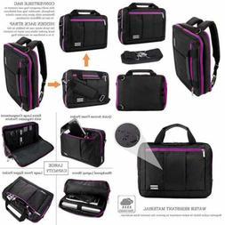 """13.3 14.5"""" Laptop Backpack Waterproof Slim Casual Travel Mes"""