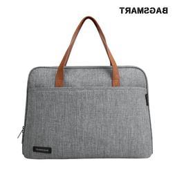 BAGSMART 14 Inch <font><b>Laptop</b></font> Briefcase Waterp