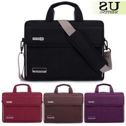 "15"" 15.6"" Notebook Laptop Sleeve Case Messenger Hand Bag For"