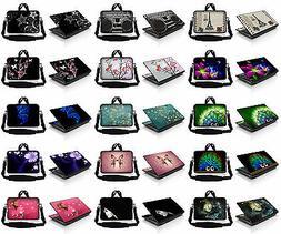 """15.6"""" 14 15 Laptop Computer Messenger Bag Case w Shoulder St"""