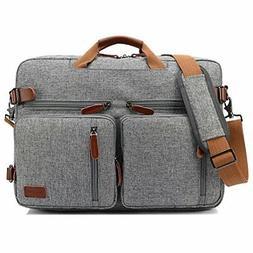 15.6 '' Convertible Backpack Messenger Bag Shoulder Bag Lapt
