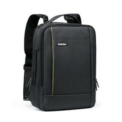 "15.6"" Laptop Backpack Shoulder Messenger Bag Handbag USB Por"
