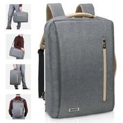 "Lifewit 15.6"" Men Laptop Backpack Travel Business Messenger"