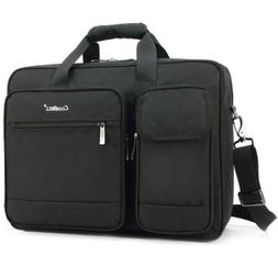 CoolBELL 17.3 Inch Laptop Briefcase Protective Messenger Bag