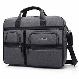 CoolBELL 17.3 Inch Laptop Messenger Bag/Durable Business Bri