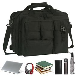 "17.3"" Mens Shoulder Bag Tactical Briefcase Computer Laptop P"
