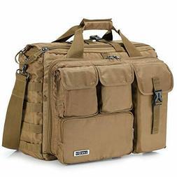 17'' Men Military Laptop Messenger Bag Multifunction Tactica