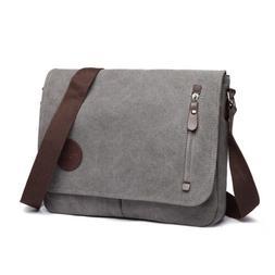 30% Offer Canvas School Cross Body Shoulder Work Bag Men's M