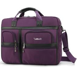 CoolBELL  Waterproof Laptop Briefcase, 17.3 Inch Protective