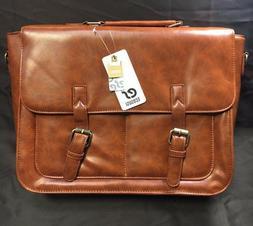ECOSUSI Professional Laptop Messenger Bag Cross body Shoulde