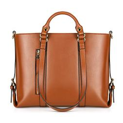 Kattee Urban Style 3-Way Women's Genuine Leather Shoulder To
