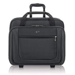 "Solo Bryant 17.3"" Rolling Laptop Case, Black"