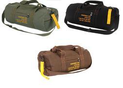Adjustable Cotton Canvas Travel Shoulder Bag Rothco