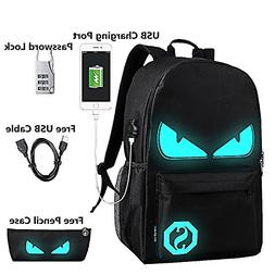 Lmeison Anime Luminous Backpack Daypack Shoulder School Bag