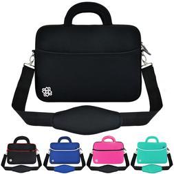 "Anti-Shock Slim 13"" 13.3"" Laptop Notebook Messenger Bag Carr"