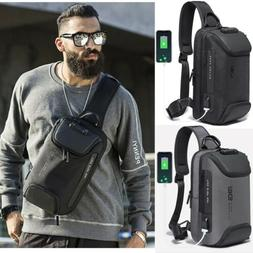 Anti-theft Chest Sling Bag Crossbody Backpack Shoulder Casua