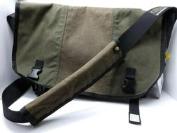 Timbuk2 Army Green/Brown Special Limited Edition Classic Mes