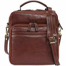 Messenger Bags Banuce Small Vintage Full Grain Italian Leath
