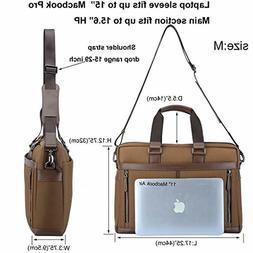 banuce waterproof nylon laptop messenger bag