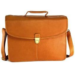 Hammer Anvil Belen Vacquetta Leather Briefcase Dressy Struct