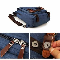Berchirly Men's Classic Canvas Shoulder Messenger Bags