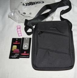 CoolBell Black Messenger Bag NWT