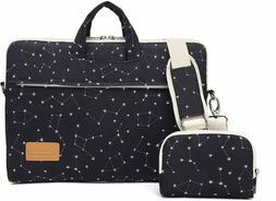Canvaslife Black Star Pattern 15 inch Waterproof Laptop Shou