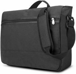 Solo Blankslate Men's Messenger Bag Briefcase Black