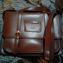 Brand New Ecosusi red/Brown Women's Briefcase/Messenger Bag/
