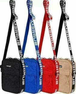 Brand new Supreme SS18 shoulder bag Men Shoulder Sling Bag u