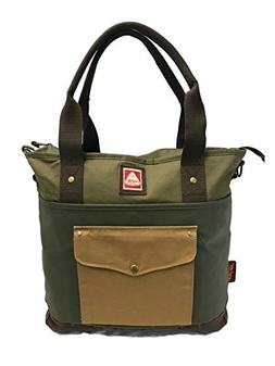 JanSport Unisex Brannan Tote Green Machine Handbag