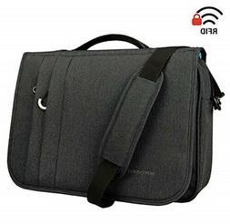 KROSER Briefcase Laptop Messenger Bag 16 inch Laptop Bag NTM