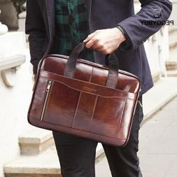 Business Briefcases Man for lawyer Genuine <font><b>Leather<