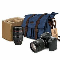 camera messenger bag mens canvas leather dslr