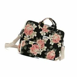 Kenox Canvas Laptop Messenger Bag Case Sleeve for MacBook Pr