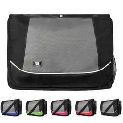 """SumacLife Canvas Laptop Shoulder Messenger Bag For 15.6""""HP P"""