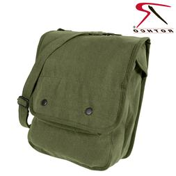 Rothco Canvas Map Case Shoulder Bag Olive Drab