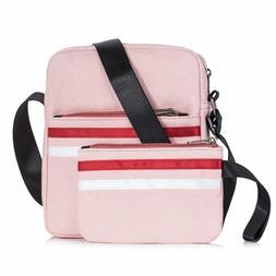 Leaper Canvas Messenger Bag Crossbody Bag Purse Shoulder Bag