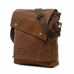 Sechunk Canvas Messenger Bags Shoulder Bags Crossbody Bags P