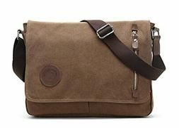 Sechunk Canvas Small Messenger Bag Shoulder bag Cross body b