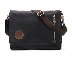 Sechunk Canvas Small Messenger Bag Shoulder bag Cross body b