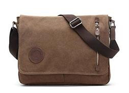 Sechunk Canvas Small Messenger Bag Shoulder Cross body for m