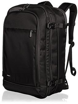 AmazonBasics Carry-On Travel Backpack, Black