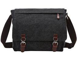 Berchirly Casual Canvas Messenger Cross Bag Travel Daypack M