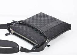 Casual Men's Leather Crossbody Messenger Bag Shoulder Bags S