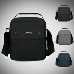Casual Men Zip Shoulder Bag Oxford Cloth Messenger Crossbody