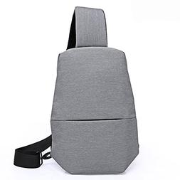 Unisex Chest Back Pack Messenger Sling Bag Outdoor Crossbody