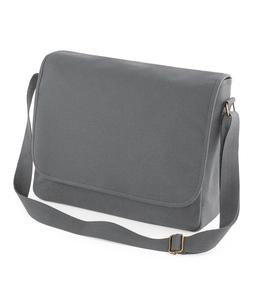 Bagbase Classic Work Cotton Canvas Messenger Bag Padded Line
